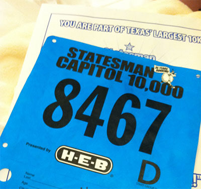 Cap-10K-race-number