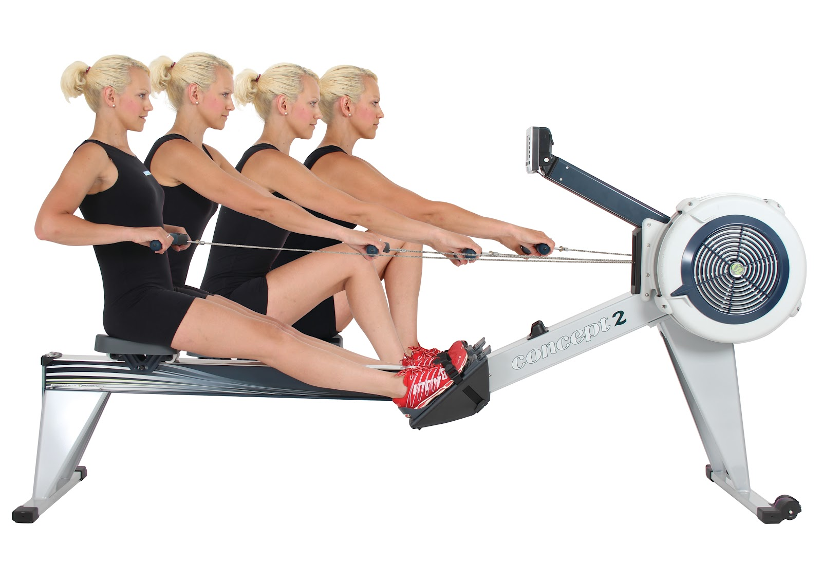 rowing form female