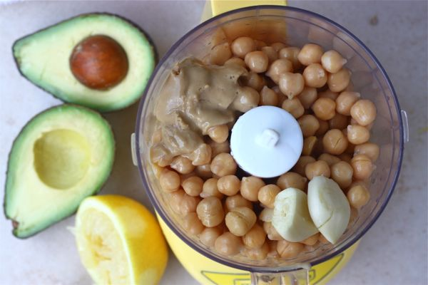chickpea food processor
