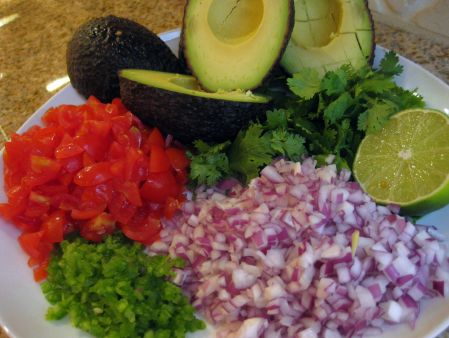 Delicious healthy guacamole recipe