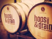 Hops Grain Barrels Event