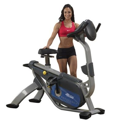 Body Solid B5U upright bike for rent