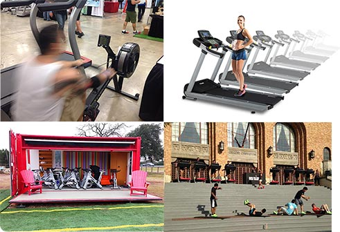 event fitness equipment rentals