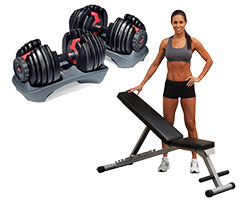 Dumbells multibench with model S