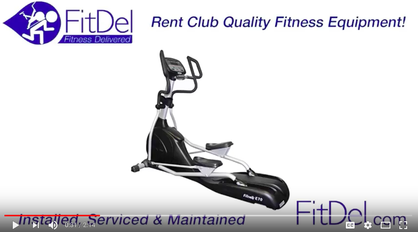 How To Rent the Fitnex E70 Elliptical