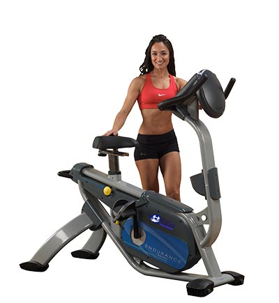 Body Solid B5U upright exercise bike for rent