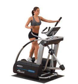 body solid e5000 elliptical trainer for rent