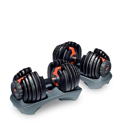 Bowflex Adjustable Dumbbells for rent