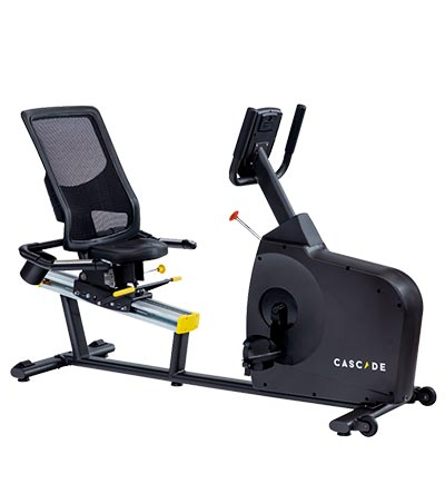 Cascade CMXRT recumbent exercise bike for rent