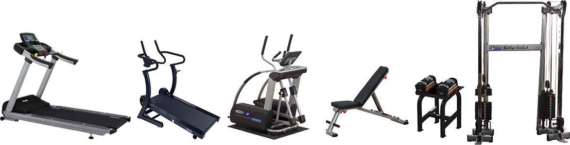 rent strength Training exercise equipment